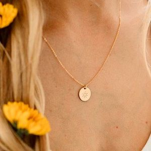 """""""Here Comes the Sun"""" Bohemian IndieHippie Necklace"""